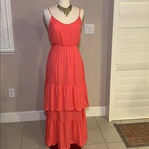 NWT maxi dress sz S